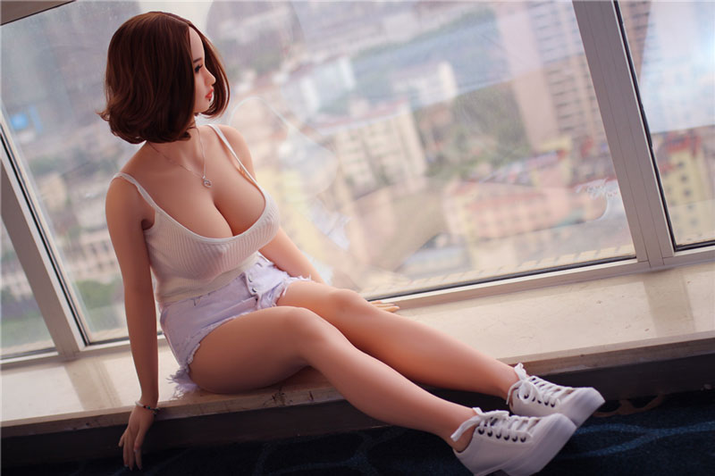 Real sex dolls puppen 158cm