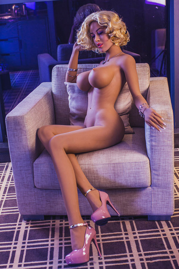 Pinkes Mädchen Sexpuppe